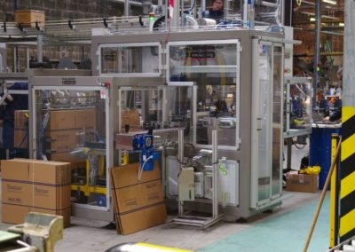 Engine oil manufacturer ordered a third cartoning machine