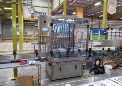 Filling and capping machine for paint giant in Australia