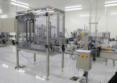 Complete and flexible double chocolate spread filling line for Algeria.