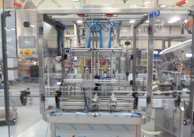 Standard filling line for juices