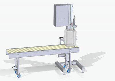 Half automatische jerrycan vuller voor Ecologische reinigingsproducten