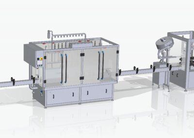 Automatische kartonneermachine opgestart met een output van 1000kartons/uur